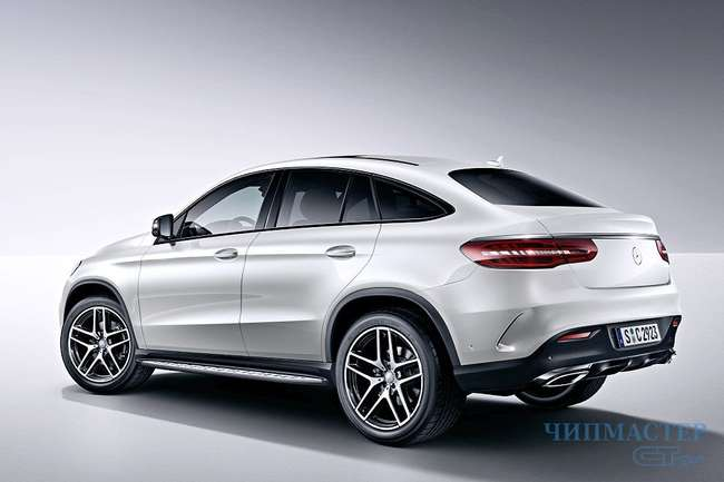 Mercedes GLE Coupe Night