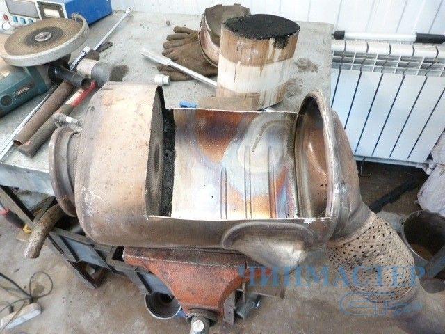 отключить сажевый фильтр мерседес луидор красноярск